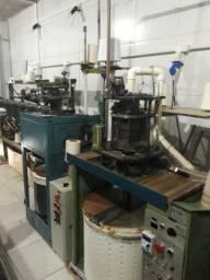 Máquina para fabricação de meia e cultivo de marisco