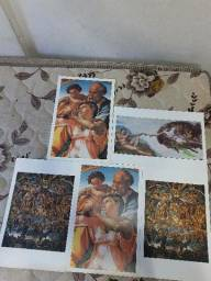 Título do anúncio: Coleção Telas Famosas de Michelangelo