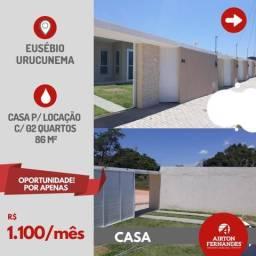 Excelente casa plana para locação em Eusébio