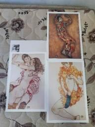 Título do anúncio: Coleção Telas Famosas de Egon Schiele