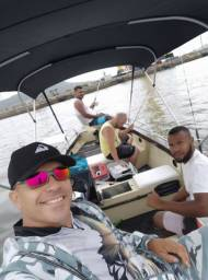 LOCAÇÃO de barco pra pesca