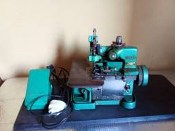 Máquina overlok seme-industrial