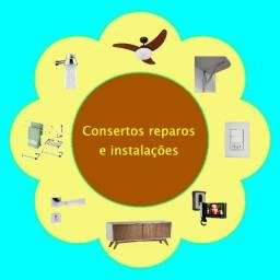 Consertos reparos e instalações