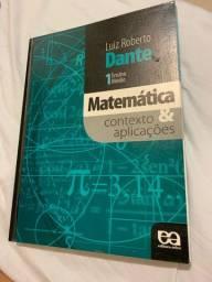 Livro matemática contexto e aplicações 1º ano EM