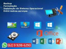 Tecnico de Informatica a Domicilio - Atendimento Diferenciado Para 'Windows' e 'MacOSX'