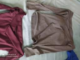 Blusas tamanho único- P