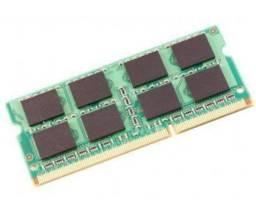 Memória ram de notebook 2 e 4gb  aceito cartão