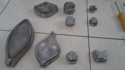 Frisadores de Flores, 16 carbo e 9 peças
