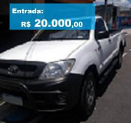 Toyota Hilux, CS, 4X4. (Oportunidade!)