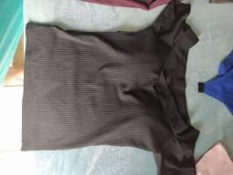 2 blusas curtas