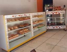 Vendo vitrines de padaria