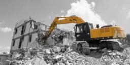 Demolições em geral é com a empreiteira e demolidora Ctm