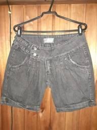211 - Short jeans preta - Tam 42