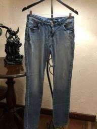 Calça jeans, marca M. Officer