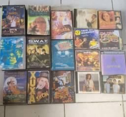 Cd's & Dvd's de filmes e músicas