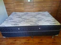 Vendo cama Box Casal Usada