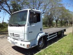 Caminhão MB914C, carroceria prancha fixa, quitado, sem multas, documentação em dia