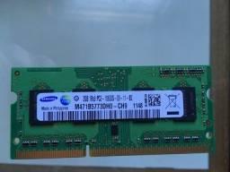 Memória Ram Samsung Usada - 2 x 2Gb (total 4Gb) Mac Book Pro 2011