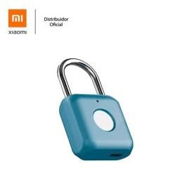 Título do anúncio: Cadeado Impressão Digital Xiaomi Inteligente Biometria Oficial Xiaomi Brasil