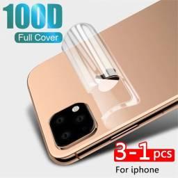 KIT Película traseira e dianteira hidrogel iPhone x