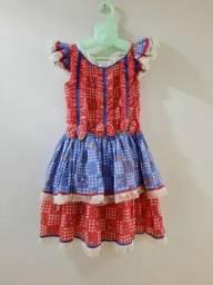 Vestido de matuta infantil