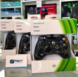 Título do anúncio: Controle Xbox 360 com fio Pc Joystick