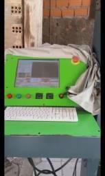 Maquina de modelar a fio quente isopor