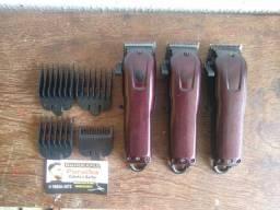 Máquinas de barbear profissional Kemei