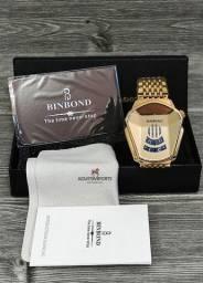 Relógio Novo Importado! Magnífico e à pronta entrega com garantia!