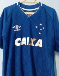 Título do anúncio: Camisa umbro Cruzeiro I 2017 (LEIA A DESCRIÇÃO)
