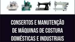 Mecânica em máquinas de costura serviço com garantia
