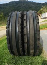 Promoção par de pneus dianteiro trator 750.16 tri raiado