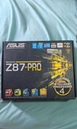 Título do anúncio: Placa mãe Asus Z87 Pro 7 PCIE