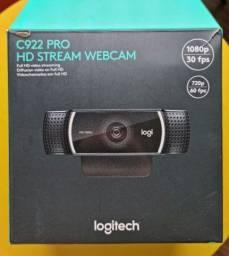 Título do anúncio: Webcam c922 pro HD streaming