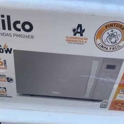 Micro-Ondas Philco 26L Prata 1400W na Caixa Novo