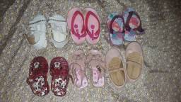 Lotes de sandálias por R$50