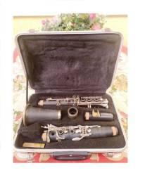 Clarinete Vogga Preta Fosca Sib 17 chaves regulada  Boquilha