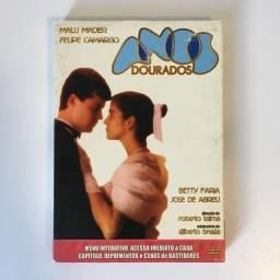 Minissérie Anos Dourados em DVD