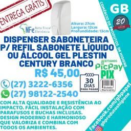 Porta Sabonete Líquido Álcool Gel Plestin Century Dispenser Saboneteira