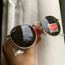 Óculos Ray-Ban Round Tendência 2021 Unissex