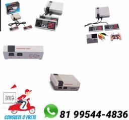 Mini Nintendo Nes Nintendinho 2000 Jogos Video Game Retro NÃO É SUPER NINTENDO. Só zap