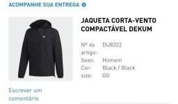 Jaqueta Corta Vento Adidas