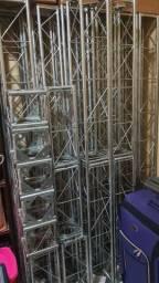 Estrutura de aço para festas e eventos
