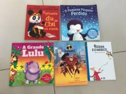 Livros diversos entre R$ 5,00 e R$ 13,00