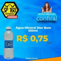 Agua Ster Bom 510 ml Fardo c/12   R$ 9,00
