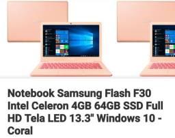 Título do anúncio: Vendo notebook novo