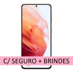 Galaxy S21 lacrado C/ Seguro + Brindes (Carregador e capa original Samsung)