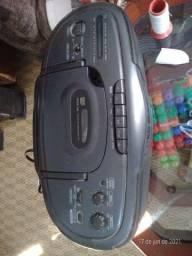 Rádio gravador com cd