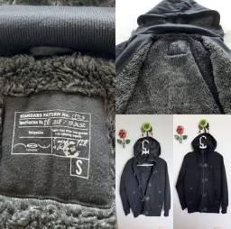 Casacos de frio comprados na Itália
