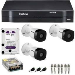 Câmeras de segurança CFTV.               Câmeras De Segurança CFTV 3144